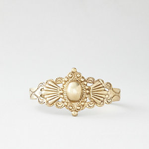 ORNATE BRASS CUFF