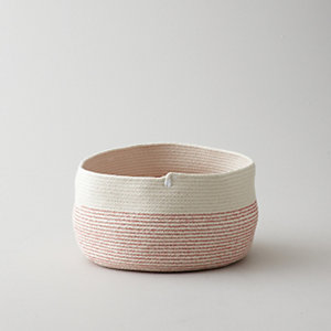 BOWL SHAPE COTTON BASKET
