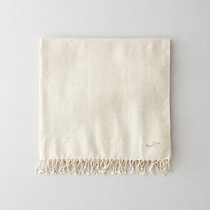 OFF-WHITE HERRINGBONE FOUTA TOWEL