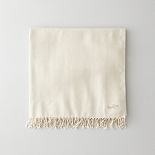 OFF-WHITE HERRINGBONE FOUTA TOWEL