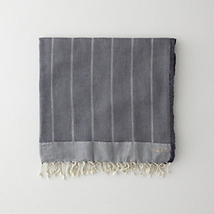 NAVY HERRINGBONE FOUTA TOWEL