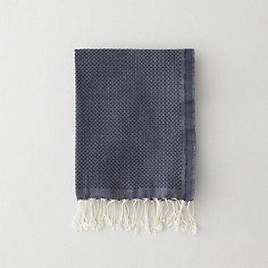 SOLID GUEST TOWEL - NAVY