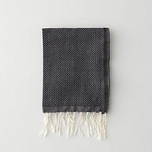 SOLID GUEST TOWEL - BLACK