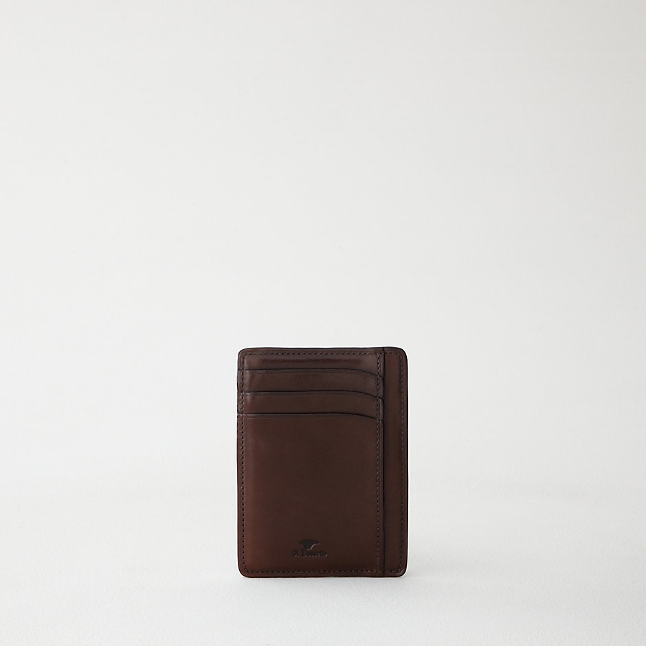 LEATHER CARD & DOCUMENT HOLDER