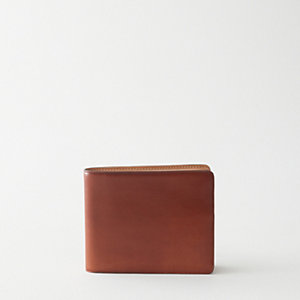 Bi-Fold Wallet with 8 Cards Natural Lining