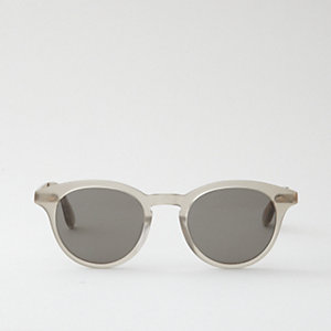 ASHLAND MATTE GREY SUNGLASSES