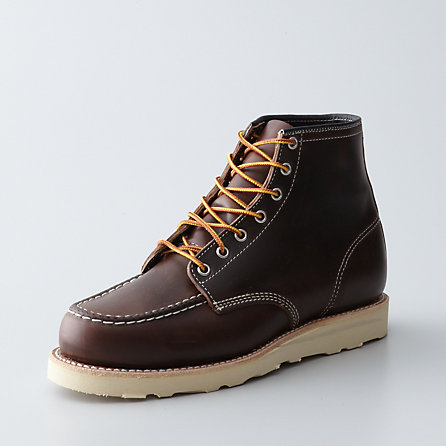 LACE UP MOCCASIN BOOT