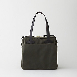 ZIPPERED TOTE BAG