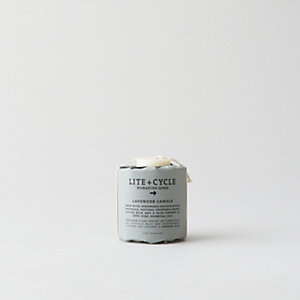 Lavender Sustainable Pillar Candle - Small