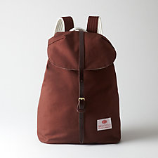 CANVAS WITH LEATHER KNAPSACK #9