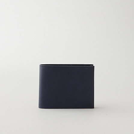 CROSS GRAIN LEATHER WALLET