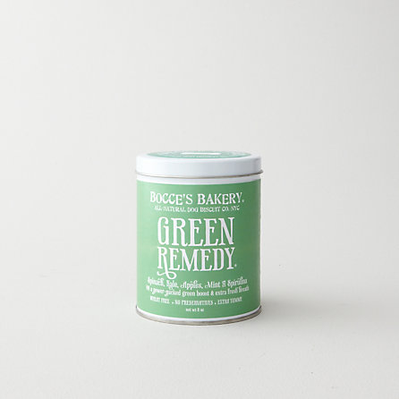 DOG BISCUITS - GREEN REMEDY TIN