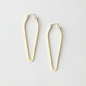 SMALL DAGGER HOOPS