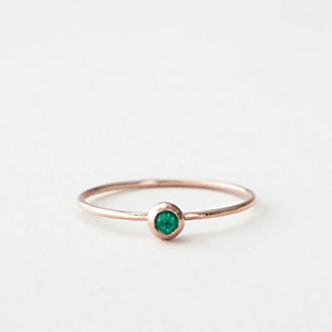 EMERALD SEED RING