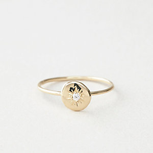 FLAT SEED STAR RING