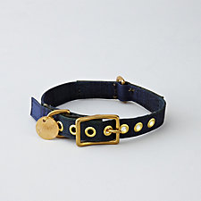 NAVY WATCH WAX COLLAR - LARGE