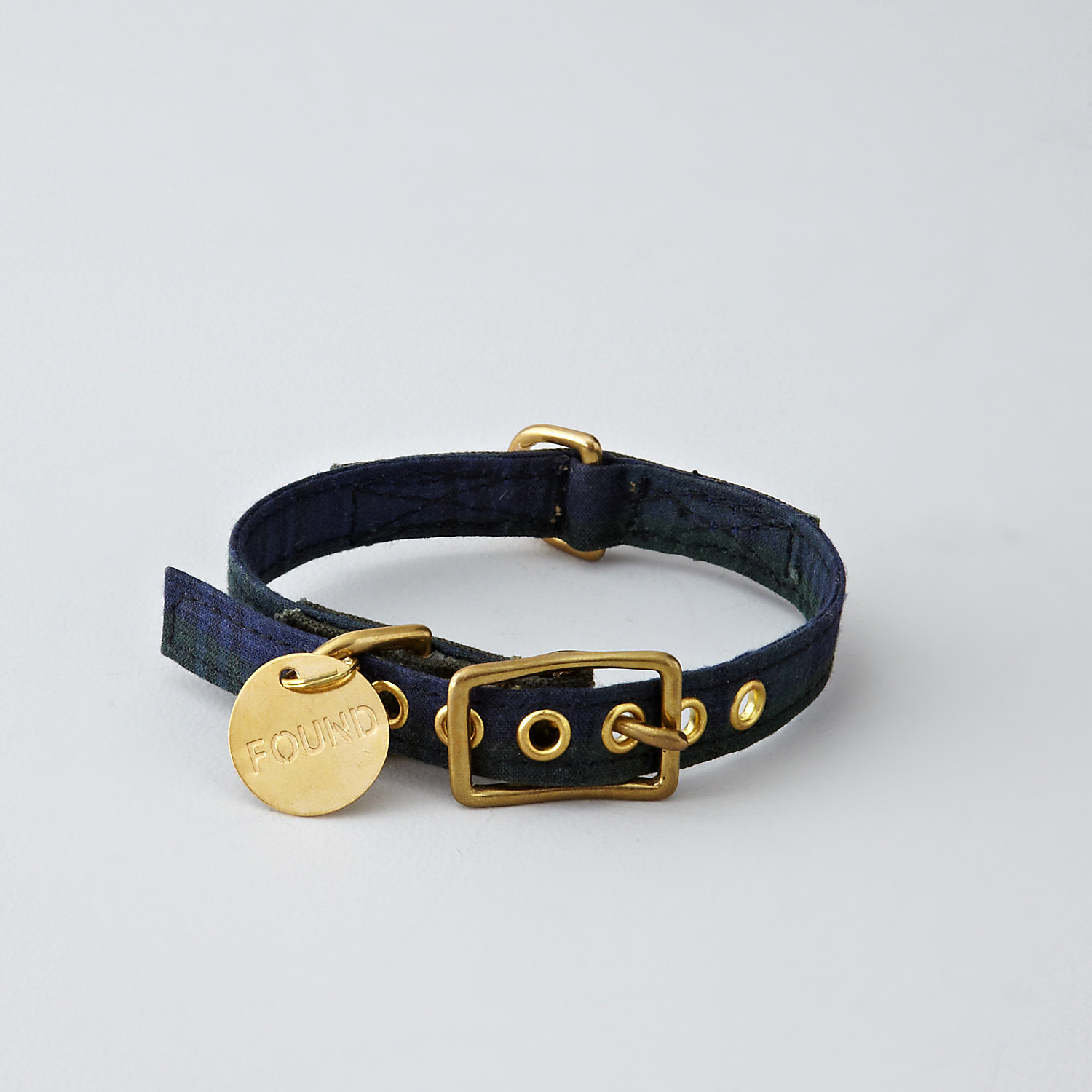 NAVY WATCH WAX COLLAR - MEDIUM
