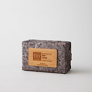 Essential Oils Bar Soap - Clean Orange