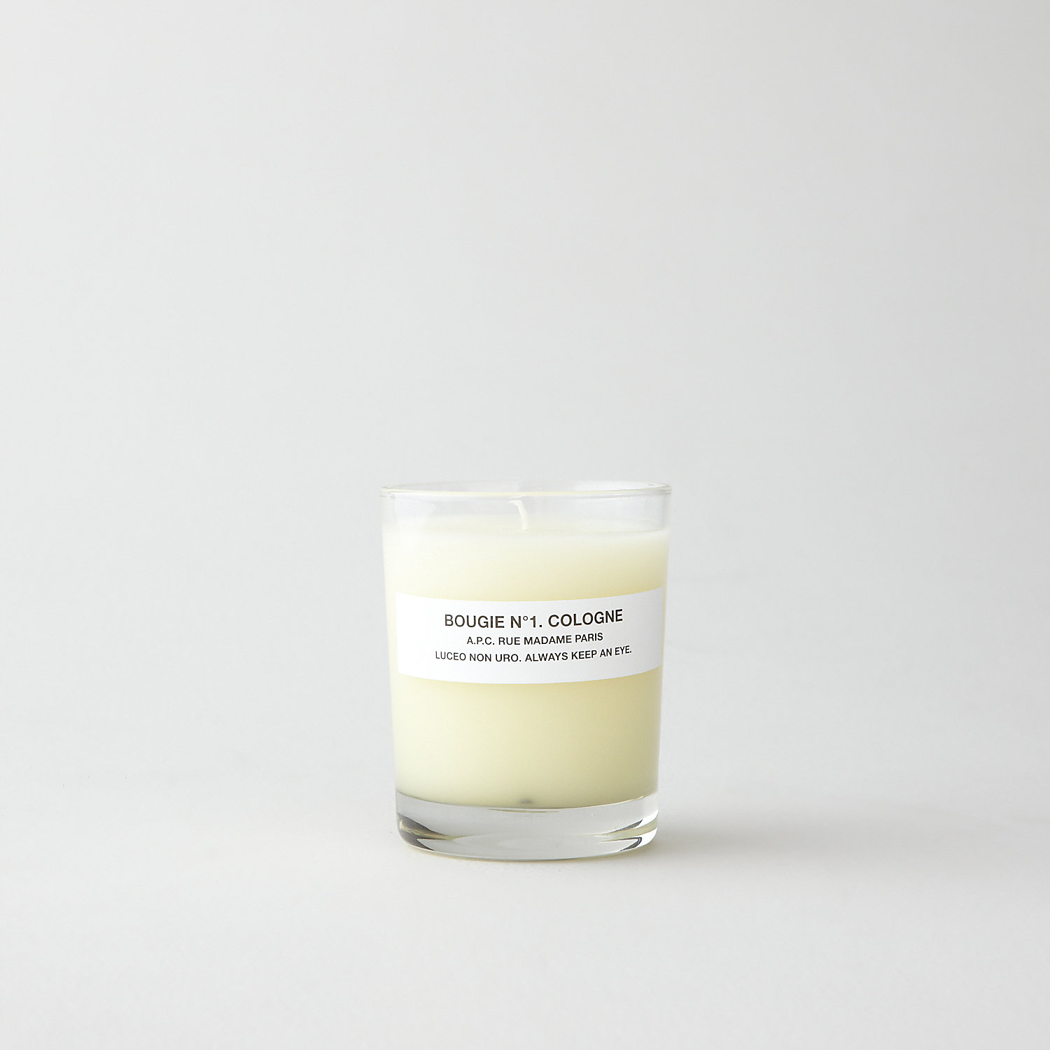 BOUGIE No.1 COLOGNE CANDLE