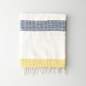 GOLD DOTS BATH TOWEL