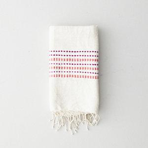 CORAL DOTS HAND/DISH TOWEL