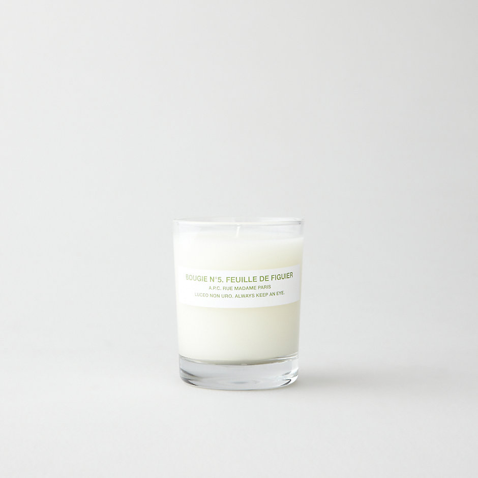 BOUGIE NO.5 FEUILLE DE FIGUIER CANDLE