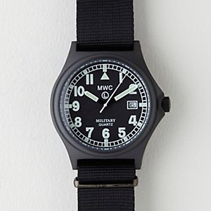 Black PVD G10/98 Stealth Military Watch