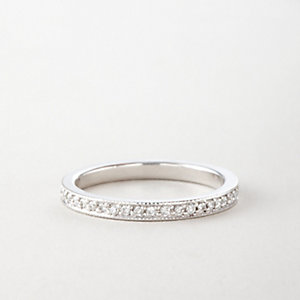 DIAMOND PAVE ETERNITY BAND