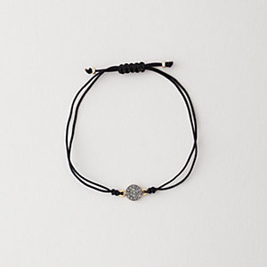 DIAMOND DISC BRACELET