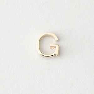 MINI LETTER STUD EARRING - G