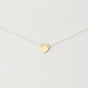 BITTY HEART NECKLACE