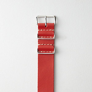 Kangaroo Leather NATO Watch Strap