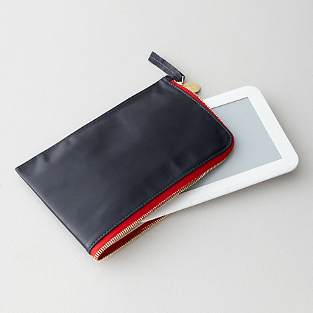LEATHER KINDLE FIRE ZIP CASE