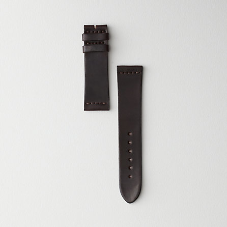 SHELL CORDOVAN #8 LEATHER WATCH STRAP