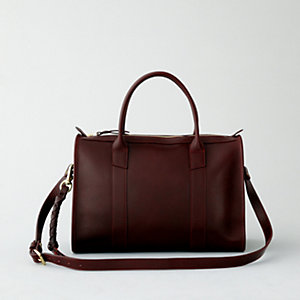 ZIPPER CORDOVAN SATCHEL #9