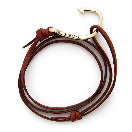 Leather Hooked Bracelet