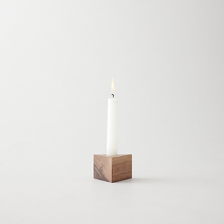 SOLID TRIANGLE CANDLESTICK HOLDER