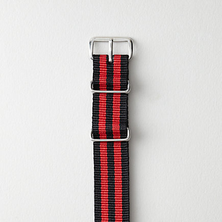 DOUBLE COLOR NATO WATCH STRAP