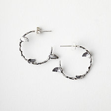 THORN HOOP EARRINGS
