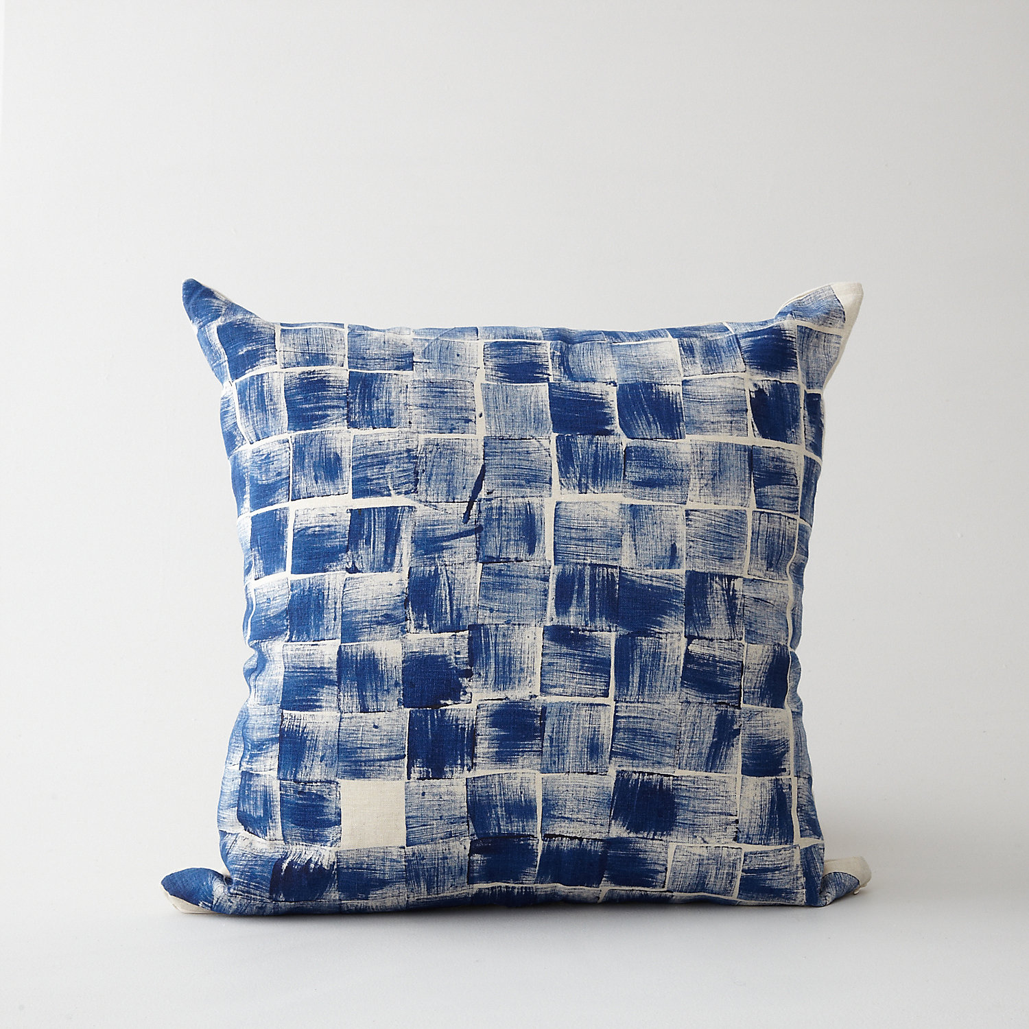 HAND PRINTED BLOCK PILLOW