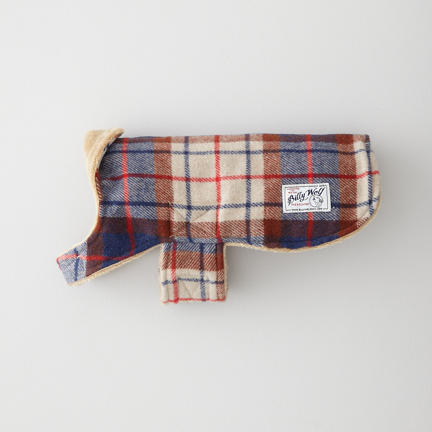 PORTER PLAID DOG COAT