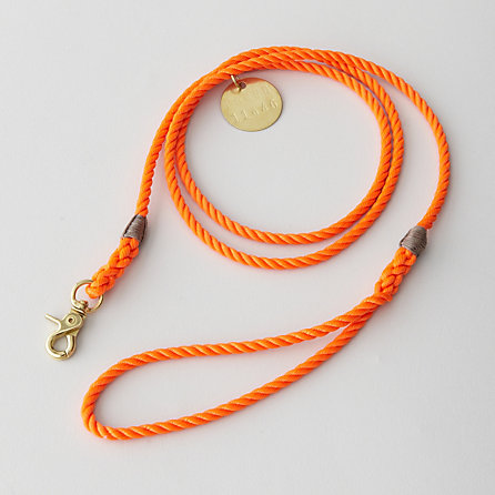 RESCUE STANDARD LEASH BRASS - SMALL
