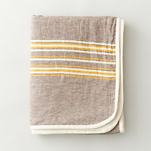 RUSTIC LINEN THROW