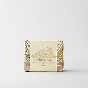 ESSENTIAL OIL SOAP: CEDARWOOD