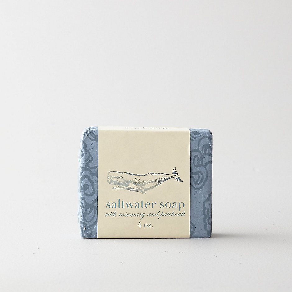 ESSENTIAL OIL SOAP: SALTWATER