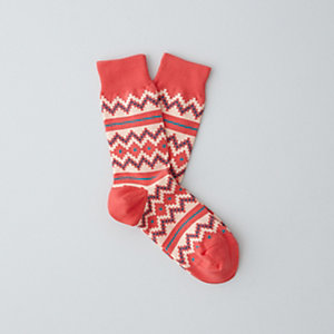 SEA FERRER SOCK - RED