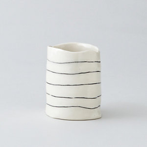 SHORT STRIPED CUP
