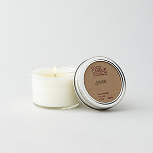 SMALL MASON JAR CANDLE - CEDAR