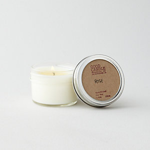 SMALL MASON JAR CANDLE - ROSE