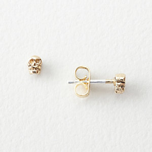 TEENY TINY SKULL STUDS